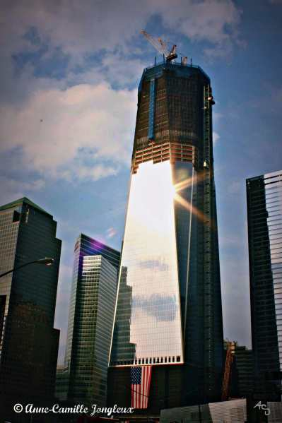 Freedom Tower, Sunlit, New York City