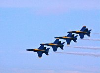 Blue Angels Practice Demonstration