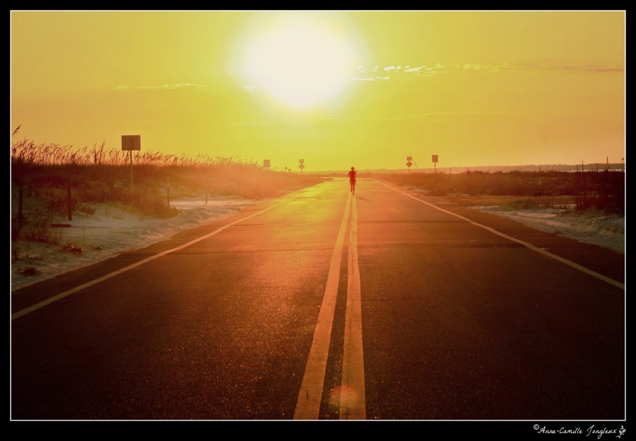 Open Road:  Runner/Sunset