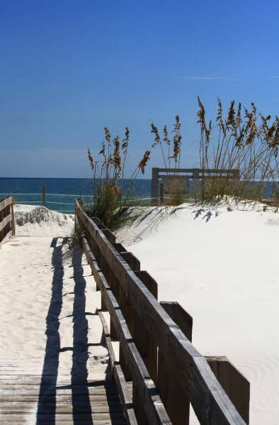 White Sands, Blue Waters, Sunny Skies