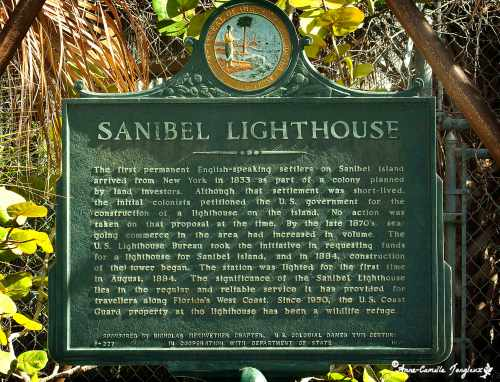 Historical Marker:  Sanibel Island Lighthouse