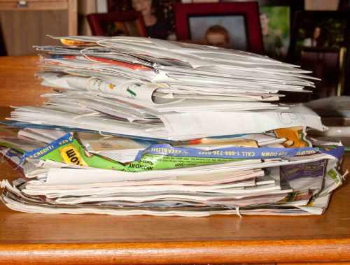 Bills, Bills, Bills -- and a few pieces of junk mail