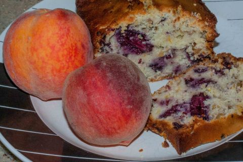 Lemon-Blueberry Cake