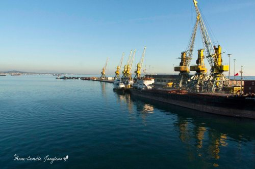Cargo Ship, Port of Durres, Albania