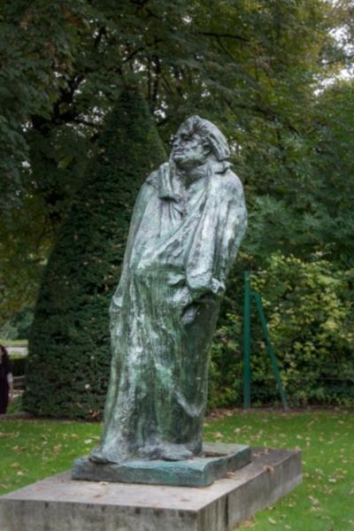 Balzac, Rodin, Garden, Paris