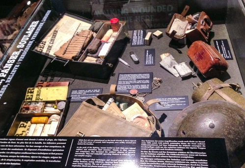 Some of the things an average soldier carried in his pack.