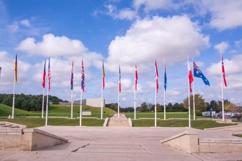 Musée Memorial, Caen France,